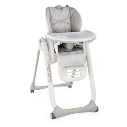 Chicco Kinderstoel Polly 2 Start Happy Silver