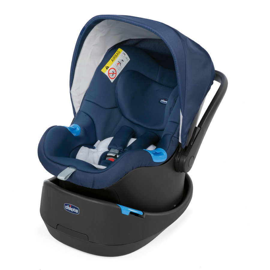 chicco Babyschale Oasys 0+ Up Blue Passion