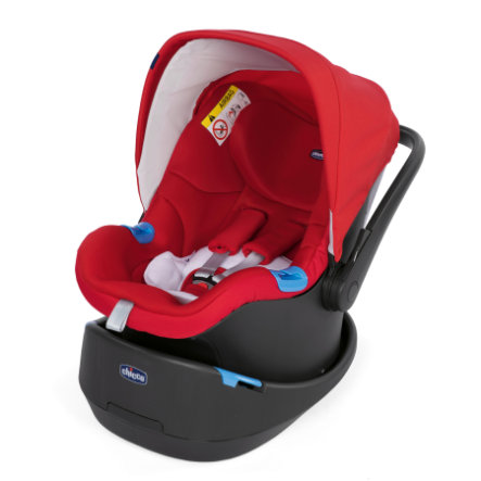 chicco Babyskydd Oasys 0+ Up Red Passion