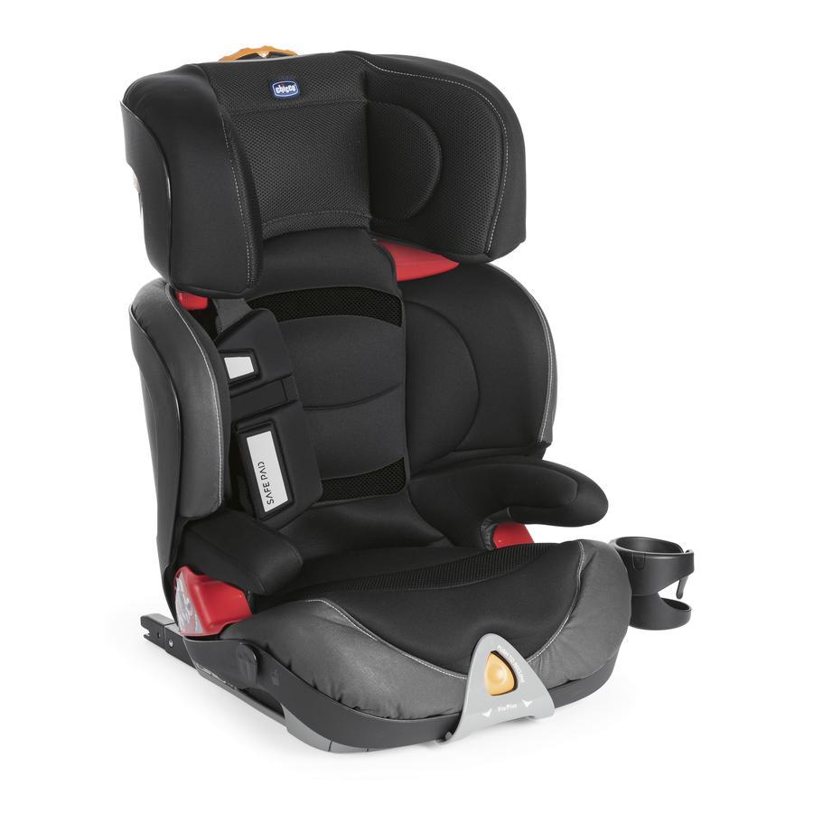 chicco Kindersitz Oasys Fix Plus Evo Gr. 2-3 Jet Black
