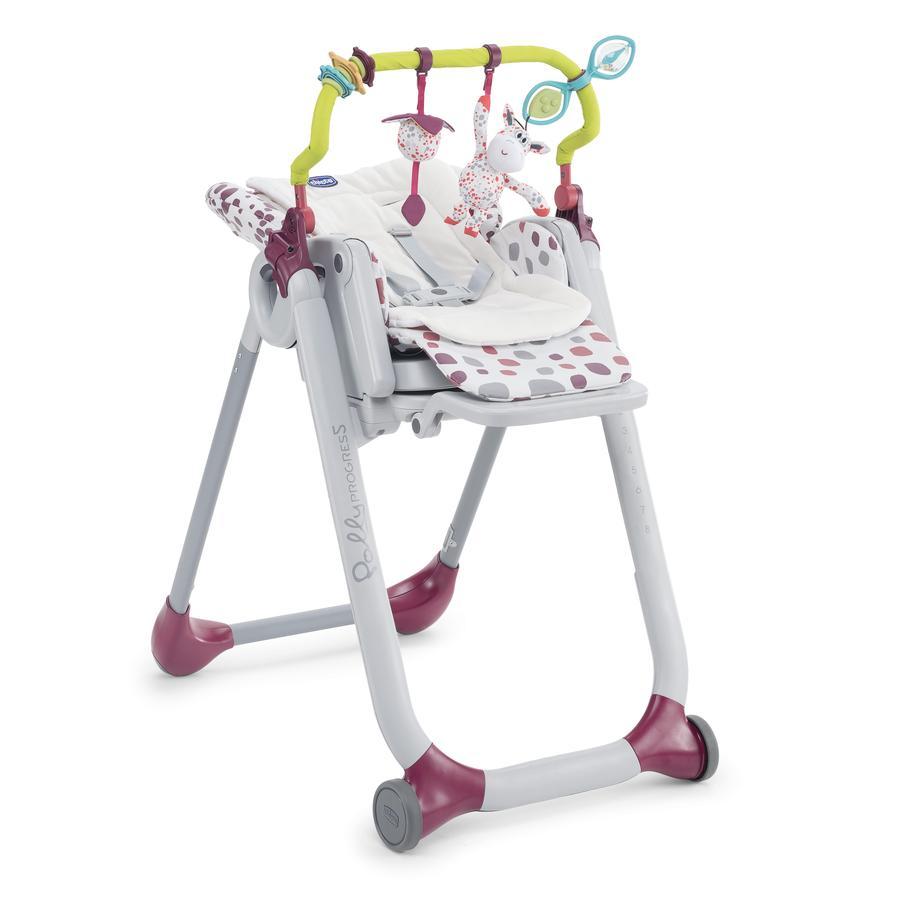 chicco hrazdička a vložka do jídelní židličky, 2017
