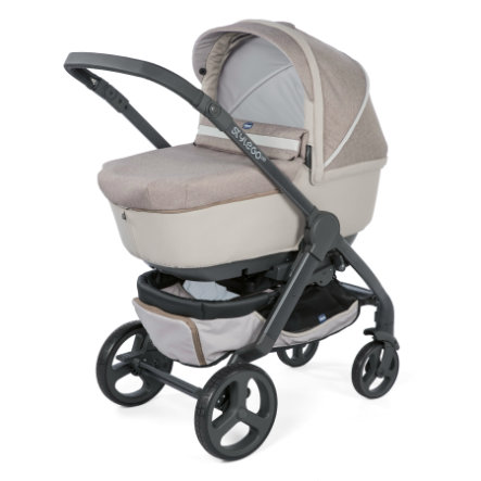 Chicco Combi kinderwagen Duo Stylego Up Crossover Beige