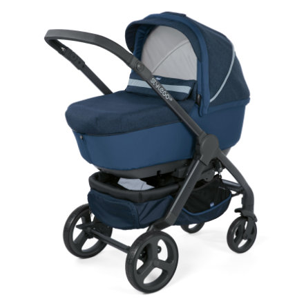 chicco Combi Kinderwagen Duo Stylego Up Crossover Blue Passion
