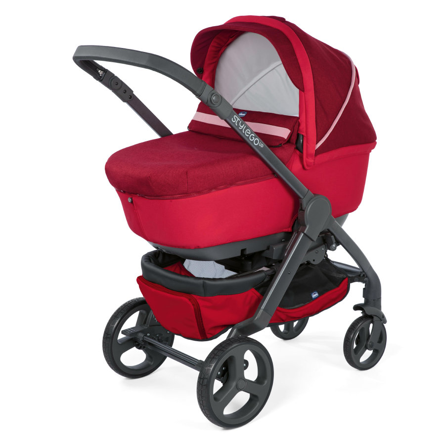 chicco Cochecito combinable Duo Stylego Up Crossover Red Passion