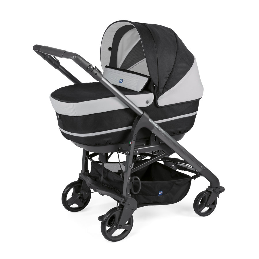 chicco Kombivagn Duo Love Up Jet Black