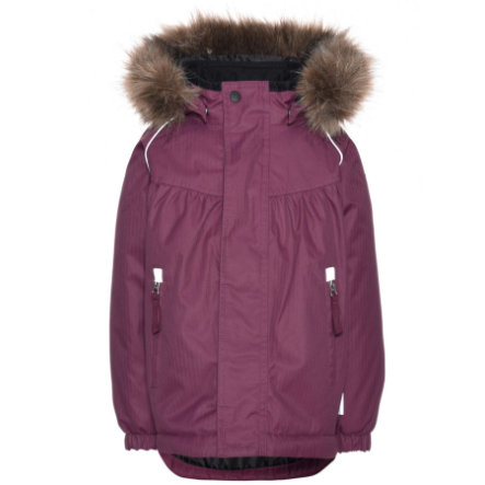 name it Girls Winterjacke Funktion prune purple