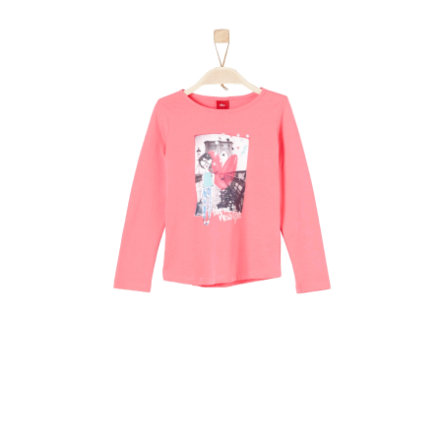 s.Oliver Girls Longsleeve coral