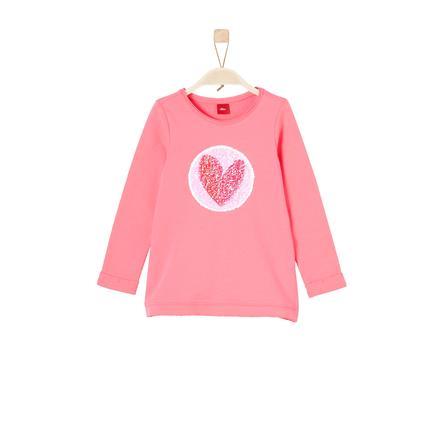 s.Oliver Girls Sweatshirt coral