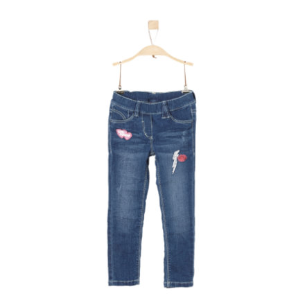 s.Oliver Girls Jeans blue denim stretch regular