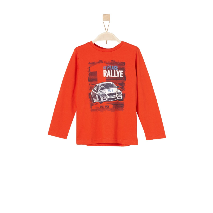 s.Oliver Boys Langarmshirt red