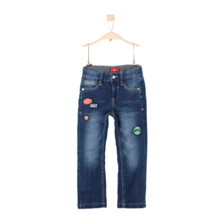 s.Oliver Boys Jeans blue denim stretch slim