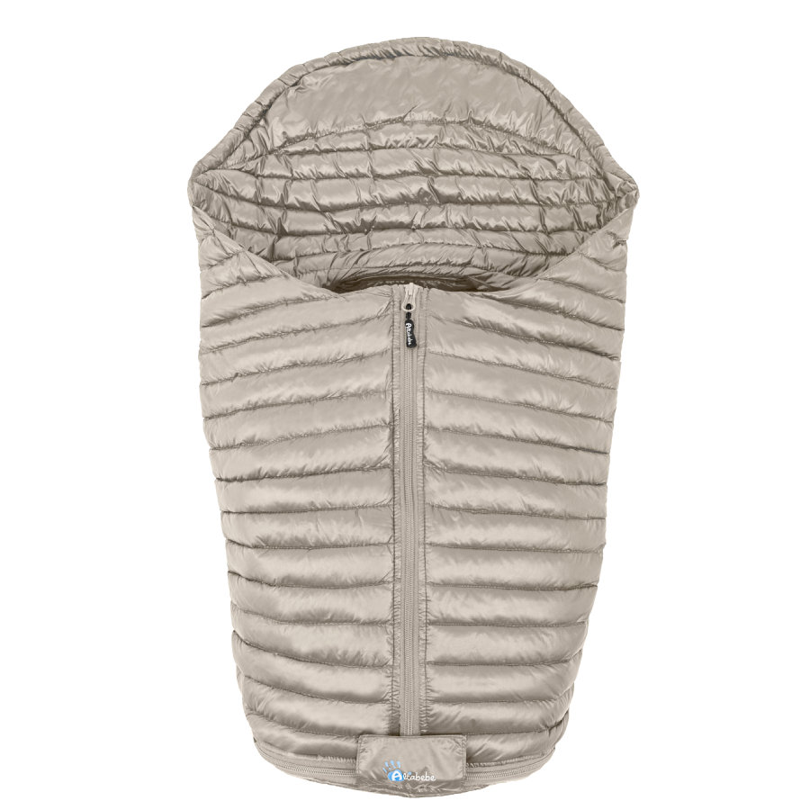 Altabebe Fußsack Ultra Light Down für Babyschale beige