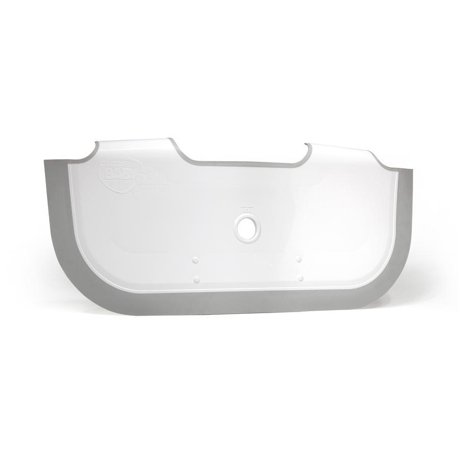 BABYDAM Séparateur réducteur de baignoire, blanc/gris