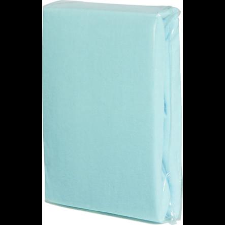 FILLIKID Dra-på-lakan Jersey 90 x 40 cm ljusblå