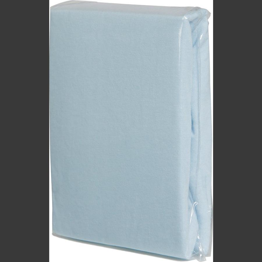 FILLIKID napínací prostěradlo Jersey 90 x 40 cm světle modré