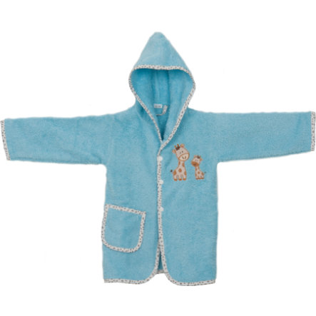 fillikid Bademantel fillikid-Friends Giraffe 24 Monate hellblau