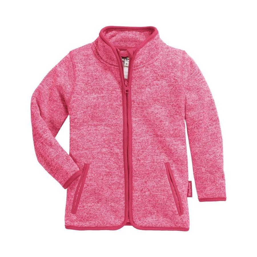 Playshoes Strickfleece-Jacke Pink
