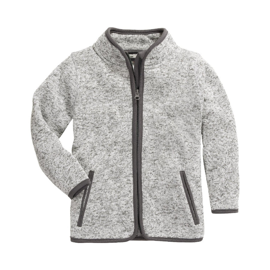 Playshoes Giacca in pile a maglia Grigio