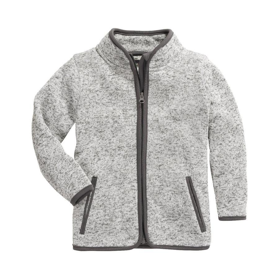 Playshoes Veste polaire tricotée Gris