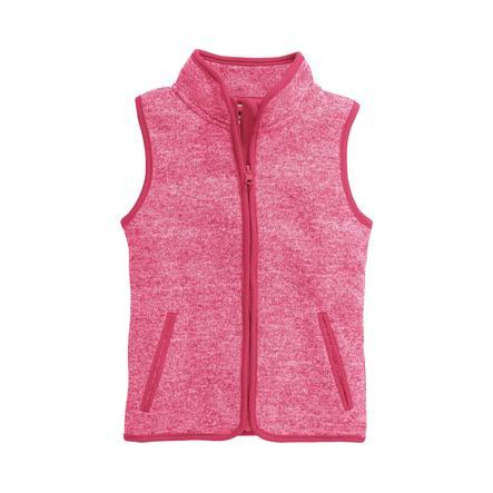 Playshoes Flísová vesta růžová