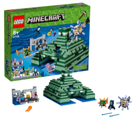 LEGO® Minecraft™ Le monument sous-marin 21136