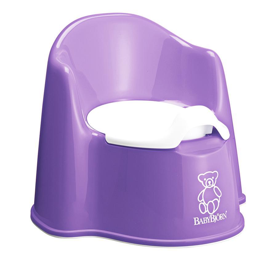 BABYBJÖRN Pot bébé fauteuil violet/blanc 24 m+