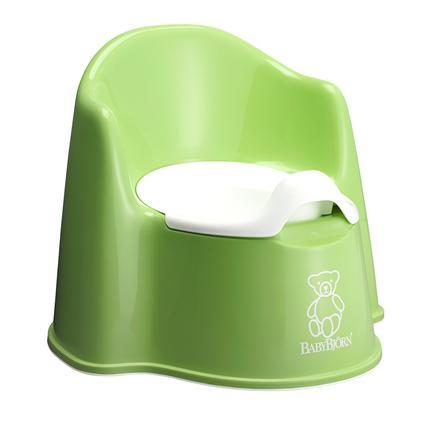 BABYBJÖRN Pot bébé fauteuil vert 24 m+