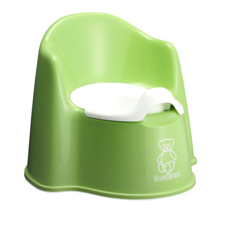 BABYBJÖRN Potty Trainer Potty Chair Green(55162)