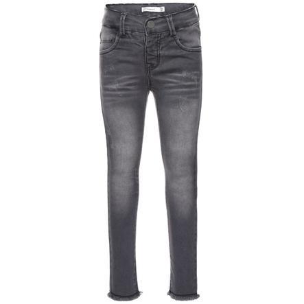 name it Jeans Telsy mörkgrå denim