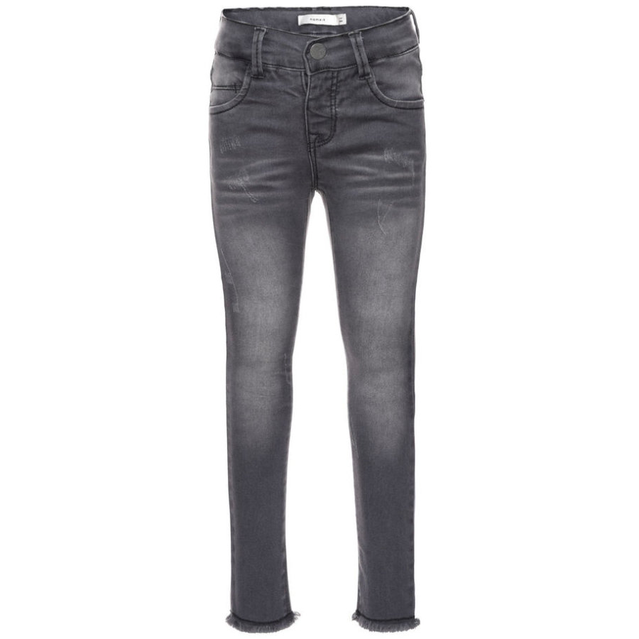 name it Girls Jeans Telsy dark grey denim
