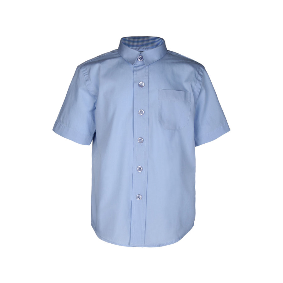 GOL Boys - - - Classic chemise 1/2 bras bleu ciel