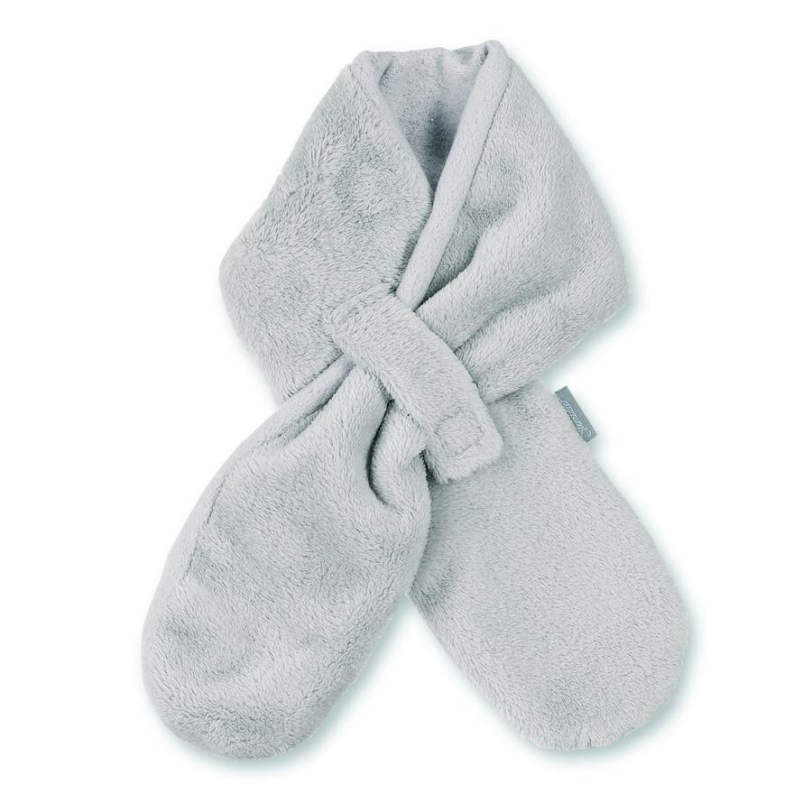 Sterntaler Ingedrukte sjaal Teddyflausch kiezelsteentjes