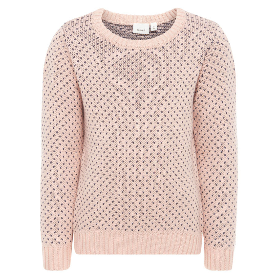 name it Girls Pullover Disani evening sand
