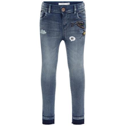 name it Girl s Jeans Anne azul medio denim