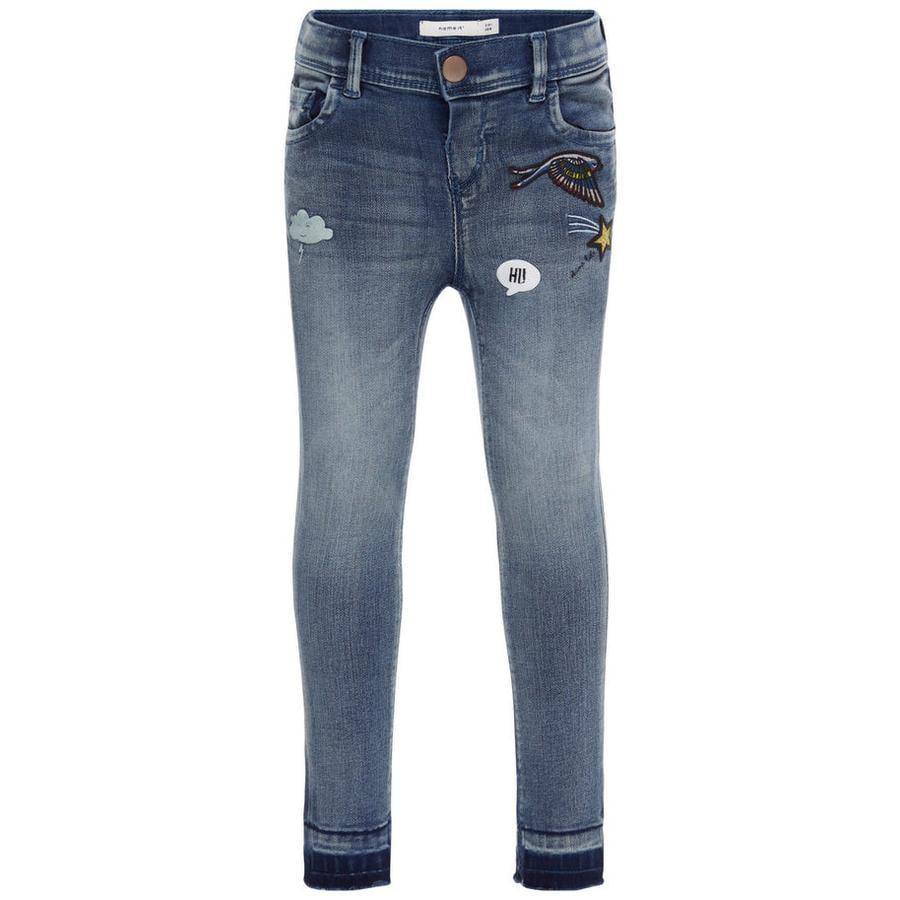 NAME IT tyttöjen Jeans Anne medium blue denim