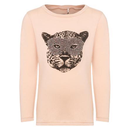 name it Flickor Långärmad skjorta Ge tiger kvällssand