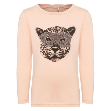 name it Girls Langarmshirt Getiger evening sand