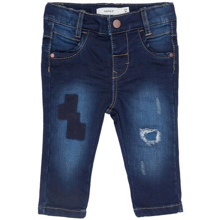 name it Girl Pantalones vaqueros Dark Blue Denim
