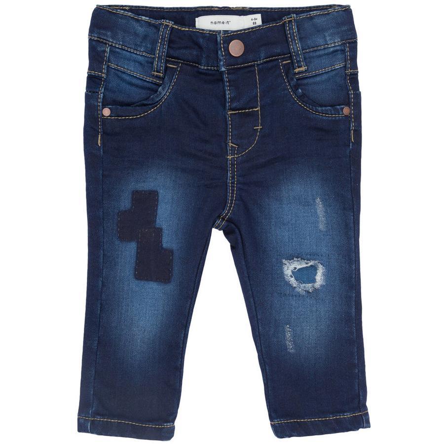 name it Girl s Jeans Dark Blue Denim Dark Blue Denim