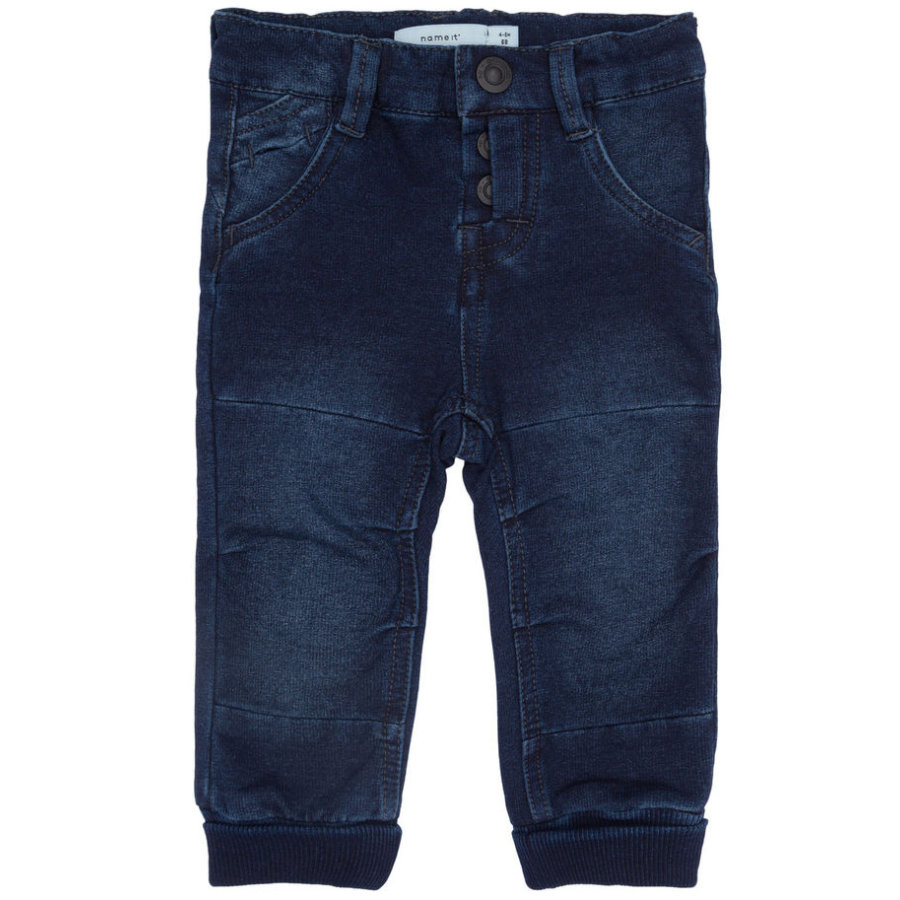 name it Boys Jeans Aino dark blue denim