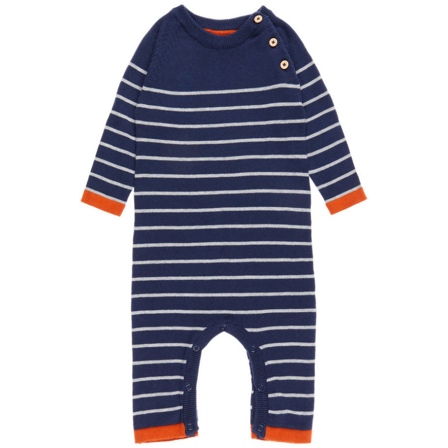 name it Boys Overall Streifen dress blues