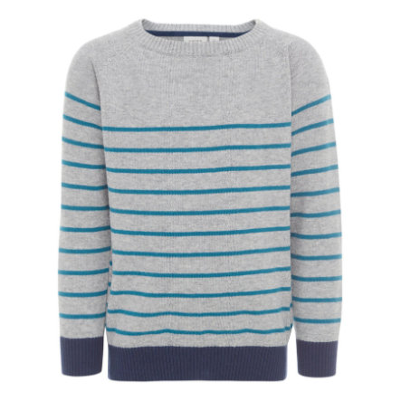 name it Boys Pullover Dims grey melange