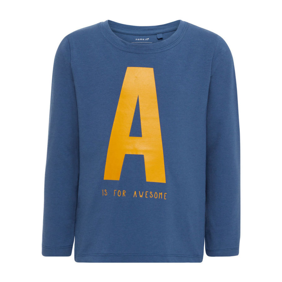 name it Boys Longsleeve Gelton ensign blue