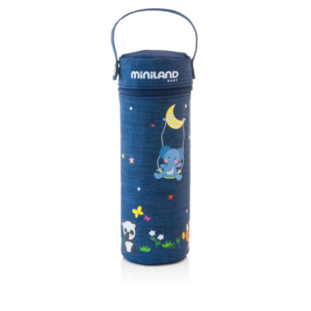 miniland Poche isotherme thermos Thermibag Denim bleu 500 ml