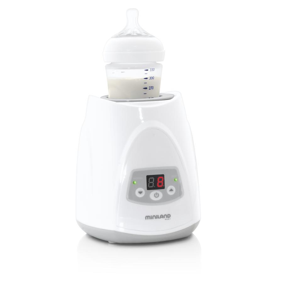 zahřívací zařízení miniland Warmy Plus Digy pro kojenecké láhve