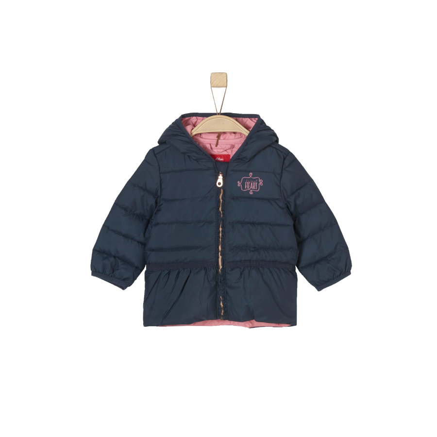 s.Oliver Girls Jacke dark blue