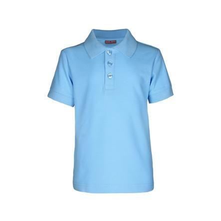 G.O.L. 1/2-Arm-Pique-Poloshirt Regularfit Luchtblauw