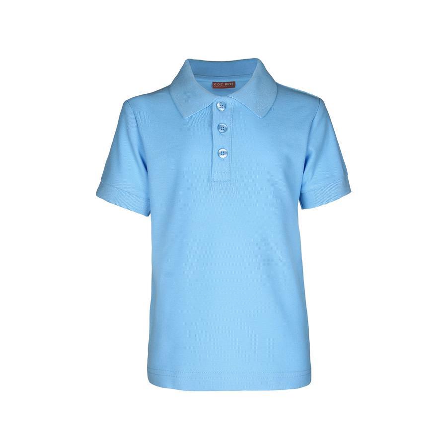 G.O.L 1/2-Arm-Pique-Poloshirt Regularfit skyblue