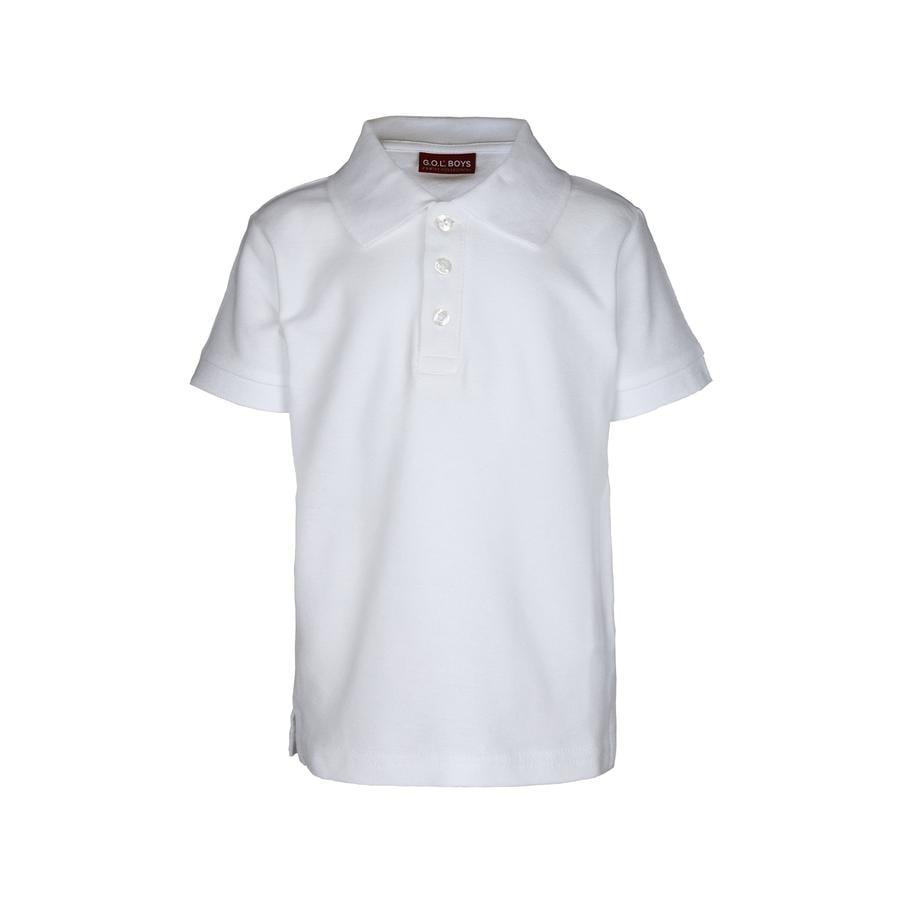 Polokošile G.O.L Pique s 1/2 rukávem Regularfit white