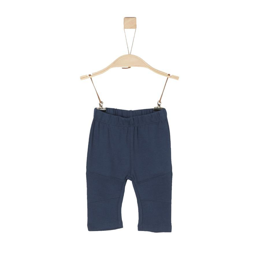 s.Oliver Boys Pantalón de jersey azul oscuro